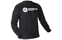 North Sweatshirt Black North sweatshirt black, w/ white logo