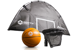 North Basketball Hoop Universal Transform your trampoline into a basketball court!